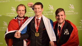 Cварщик ООО «Импульс» Владимир Бабошкин занял первое место в чемпионате Европы EuroSkills