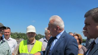 Прошла проверка реконструкции Петровского моста