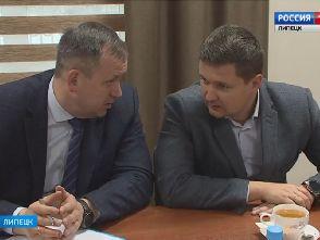 Руководитель ООО «Импульс» Иголкин В.В. в составе «Союза промышленников и предпринимателей Липецкой области»
