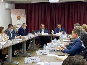 Совещание заместителя главы администрации Липецкой области и предпринимателей