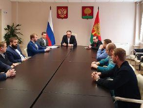 Заседание промышленного комитета ЛРО «Опора России»