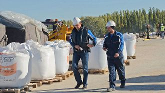 Строители на сегодняшний день оценивают готовность главной городской переправы на 85 процентов