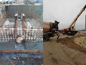 Работы по реконструкции ливневой канализации на маслоэкстракционном заводе в Воронежской области