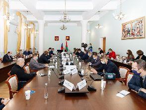 Cостоялась рабочая встреча участников союза с Главой Администрации Липецкой области